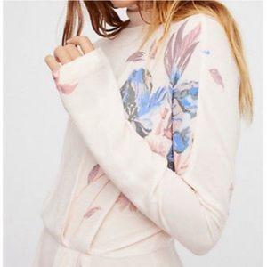 Free People Tops - Free People Gemma Pink Tunic Blouse Medium